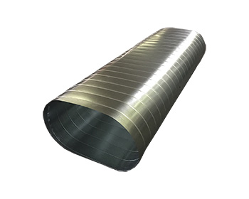 Flat Oval Spiral Duct for HVAC Duct Systems | Fabricator